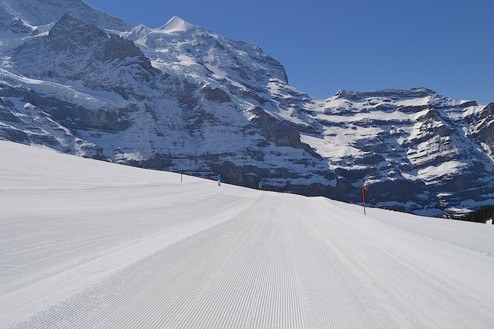 Wixi slope in Wengen