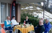 Members afterski/ Barbecue in Wengen