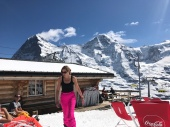 Wengen and Lauberhorn start bar