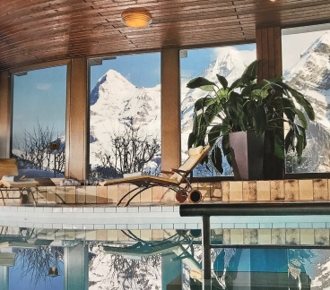One of our new member hotels in Mürren