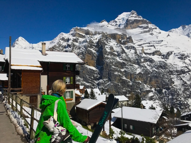 View from Mürren