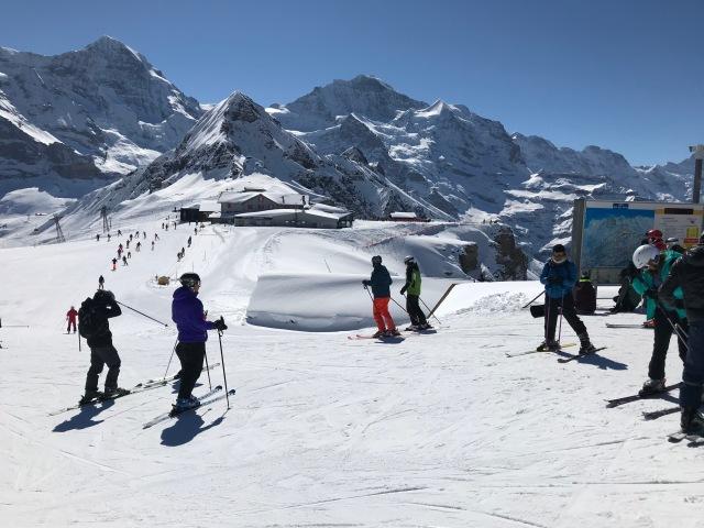 skidsemester i Schweiz